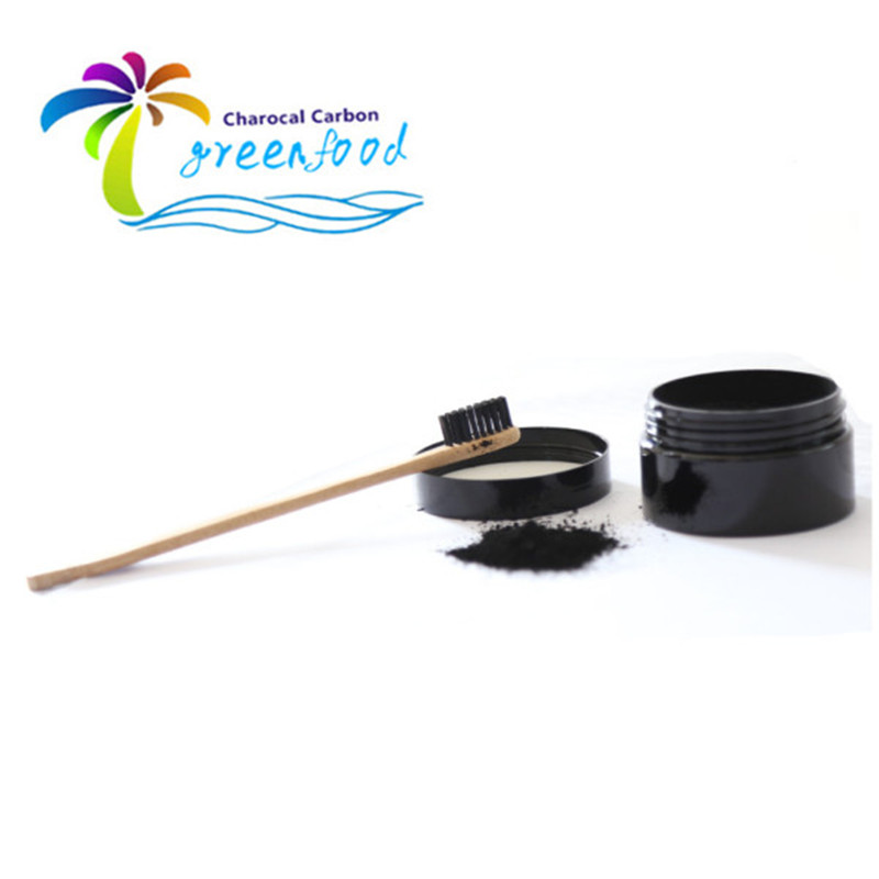 Teeth Whitening Products Bamboo Toothbrush Activated Charcoal Teeth Bleanching Powder