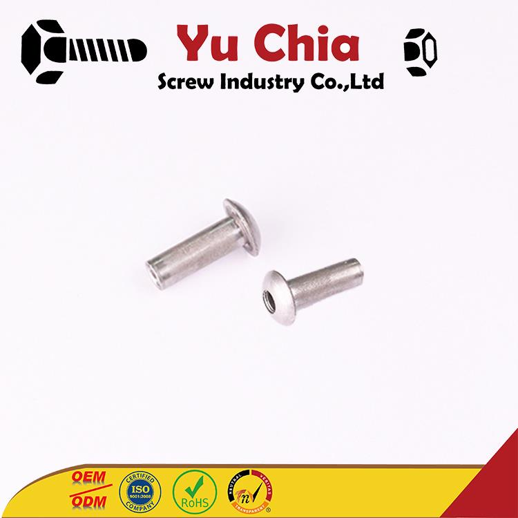 OEM ODM Butterfly Cold Forged Wing Nut Customized Fasteners Stainless Steel Chicago Binding Post Screws