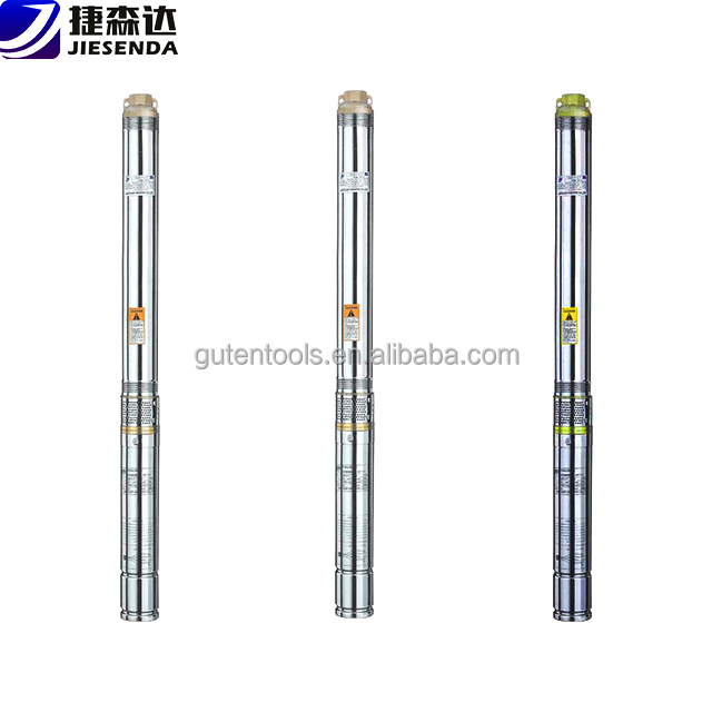 "China high pressure vertical 6"" diameter axial flow 3 phase deep well pumps 40 30 20 10 hp submersible pump price for irrigation"