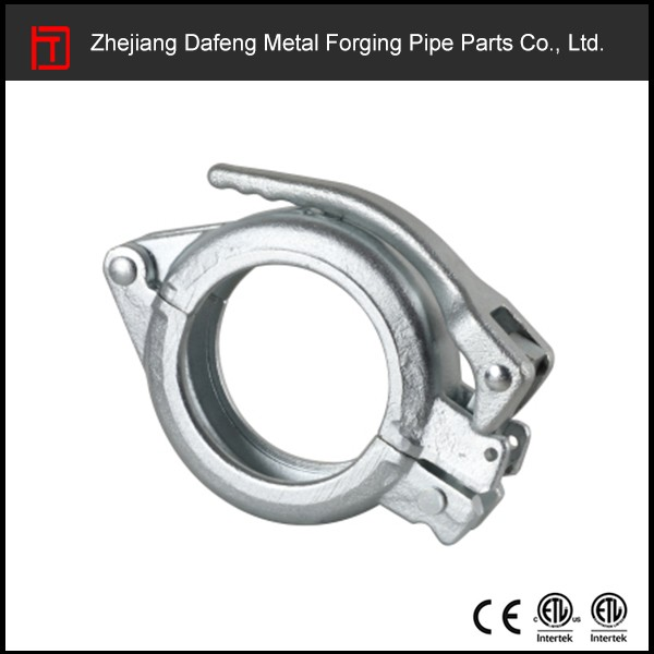 customized clamp parts for concrete pump