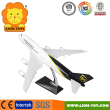 1/196 Scale Boeing 747 Airplane model Resin 747-400 Super Jumbo toy aircraft model for promotion