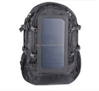 30 - 40L high capacity oxford material oxford hiking solar backpack