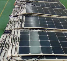 high efficiency ETFE flexible solar panel mono semi flexible solar panel 200 watt flexible solar