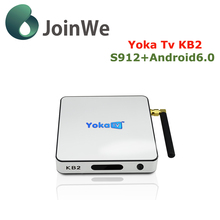 Andriod6.0 Tv Box Yokatv Kb2 2g 32g Amlogic S912 Android 6.0 download user manual for android tv box