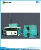 labrotary heating equipments hot sale high quality TOPT-88 type heating mantle with magnetic stirrer