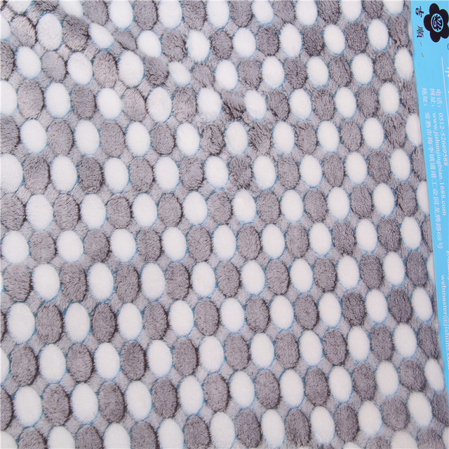Simple pattern custom widely use hometextile heavyweight flannel fabric