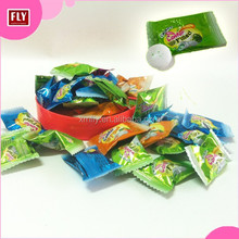 Wholesale Fruit Chewing Gum, Center Filled Bubble Gum with Jam