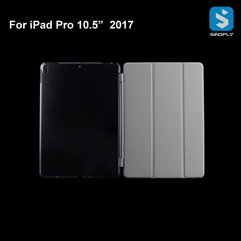 For ipad pro 10.5 Case Hard PC with Smart Cover Hole 2017