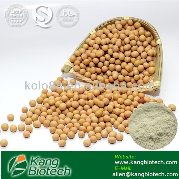 GMP manufacture factory supplier Soybean extract Soy Isoflavone Powder 40% 1-90% Soy Isoflavone