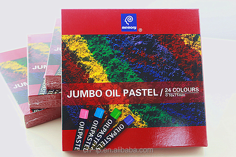 24pcs oil pastel set for school and office