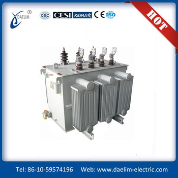 China Full sealed Three phase 6.3kv 800kva Oil immersed OLTC Distribution Transformer