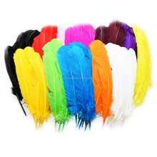 PM-014 25-30cm or 10-12inches 11 color natural Turkey feather