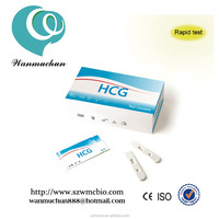 (CE,FDA,ISO)HCG pregnancy baby test kits/ one step test kits with high quality