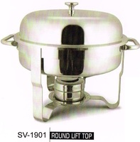 6 Ltr hotel high quality SS chaffing dish hotel equipments