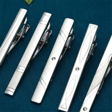 Wholesale Silver Metal Tie Clips For Men