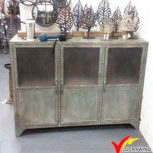 metal used look rustic antique style industrial cheap furniture