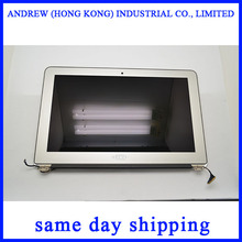 100% Genuine New 2011 Year A1370 LCD Screen Assembly For Apple Macbook Air 11'' A1370 LCD Assembly MC968 MC969