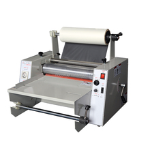 DC-380 hot &cold laminating machine for A3 size