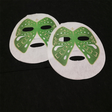 Private label deep whitening moisturizing beauty paper printed facial mask