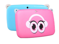 "Mini tablet For Kids 4.3""inch' single Core cheapTablet PC Google Android 4.4 Dual Cameras Bluetooth Learning Apps"