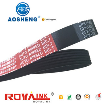 Professional made in china air conditioner 6PK1035 fan belt for car with great price