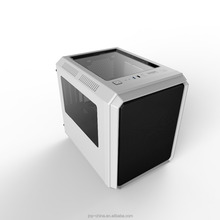 White Cube Micro ATX Gaming Case Transparent Panel Case Excellent Cooling System Design