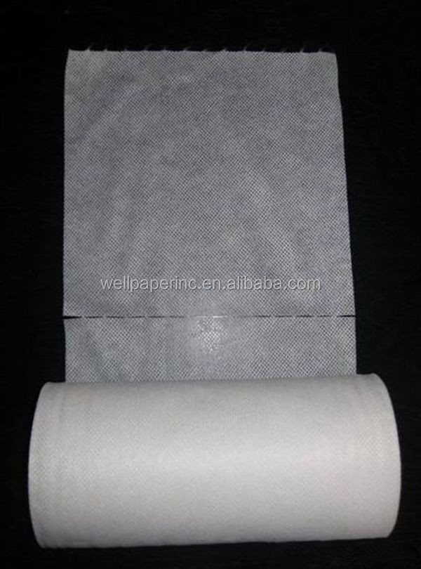 Perforated Spunlace for Wet Wipes/Dry wipes in the roll 40sheets