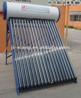 Pressure bearing solar water heater ---no risk of freeze in cold weather