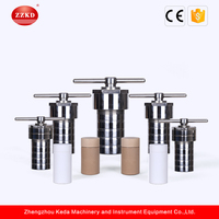 Lab Stainless Steel Pressure Vessel with Teflon Liner from China