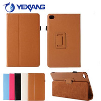 Leather Folio Case stand cover Smart Flip Cover for Huawei MediaPad M2 8.0