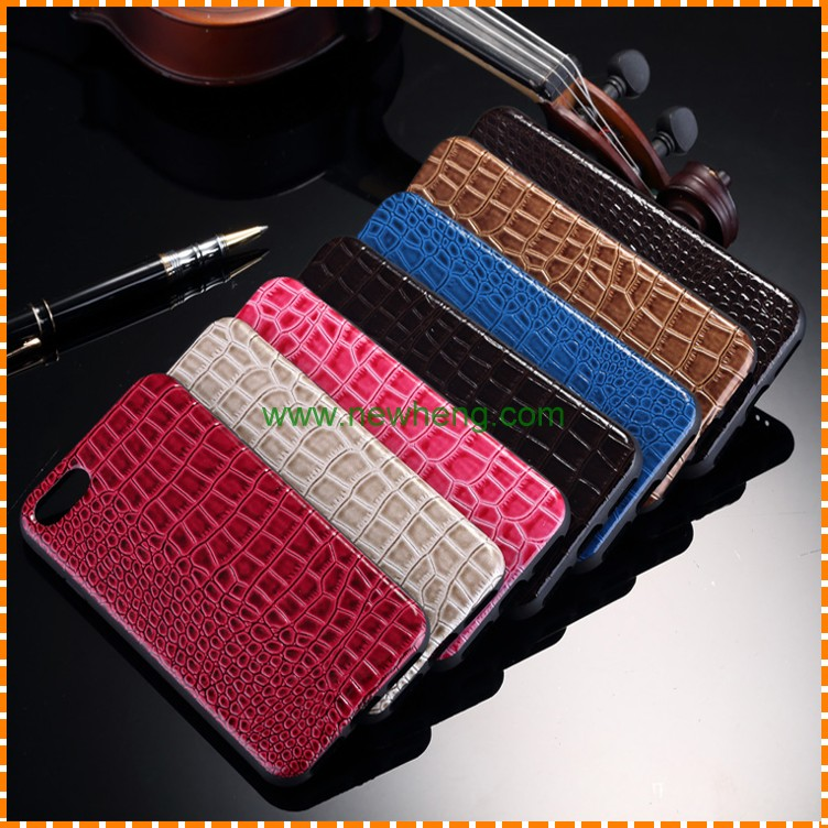 New Luxury Retro Crocodile Skin Soft TPU Cell Phone Case For iPhone 7 Leather Back Cover