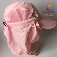 New Womens Mens Summer Sun Protection Cap Cover Ear Face&Neck Outdoor Fishing Cycling Mask Flap Hat
