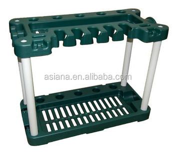Long handle garden tool rack gt 012 buy garden tool rack for Gardening tools jakarta