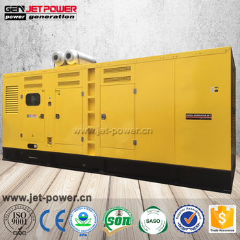 Competitive price of 1000kva heavy duty Mitsubishi 800kw diesel generator for sale