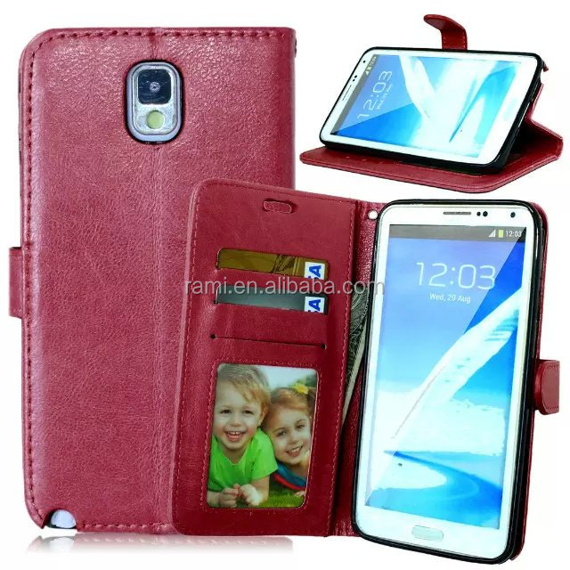 New Design Leather Case for Samsung Galaxy Note 3