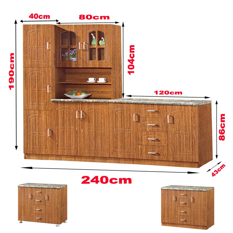 Godrej Kitchen Accessories: Kitchen Furniture 006 Cheap Mdf 6 Door Cabinet Modular