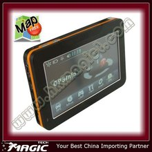 touch screen 4.3 inch car gps multimedia navigation