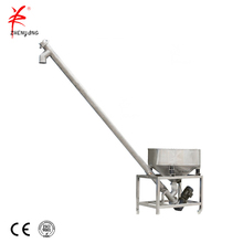 Automatic hopper screw feeder for granules