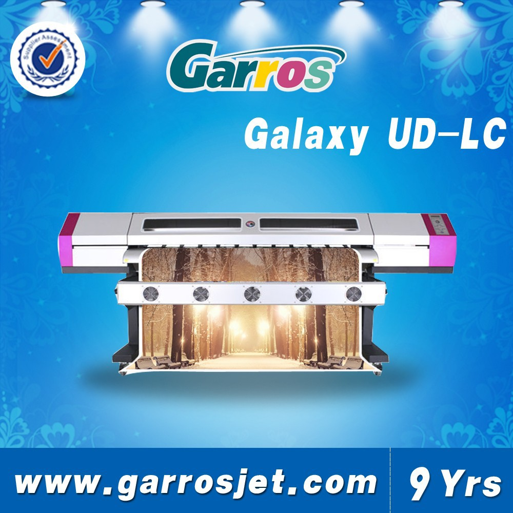 Dx5 heads equipped 3.2m galaxy ud ecosolvent printer