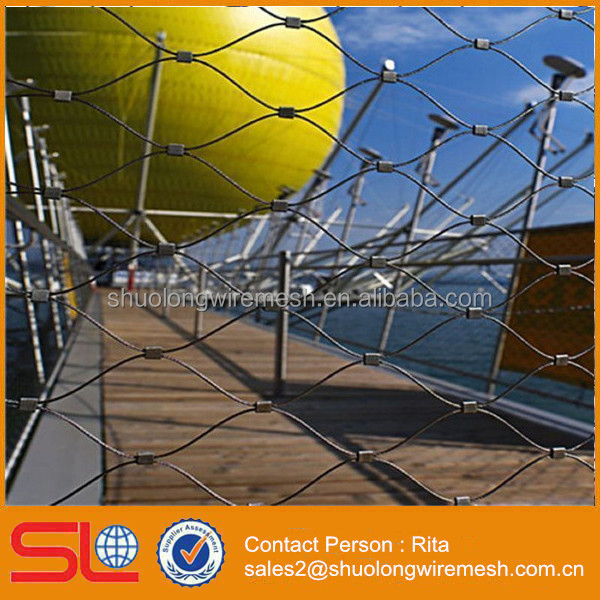 Bridge Stainless Steel Decorative Rope Cable Fence