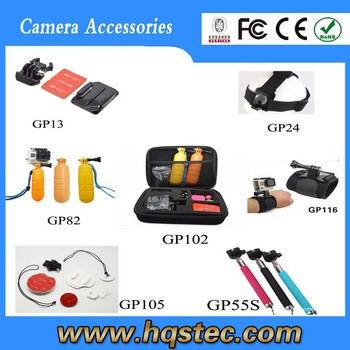 GoPros Accessories Set for Sport Camera 3+/3/2/1 Suitable Surfing,Swimming
