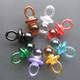 DIY accessory acrylic bead party favor mini Pacifier baby shower favor