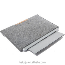 China wholesale cute factory price wool felt 16 inch laptop sleeve for Macbook