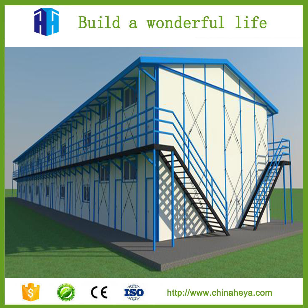 Steel home prefabricated K-frame house kits office building floor plans