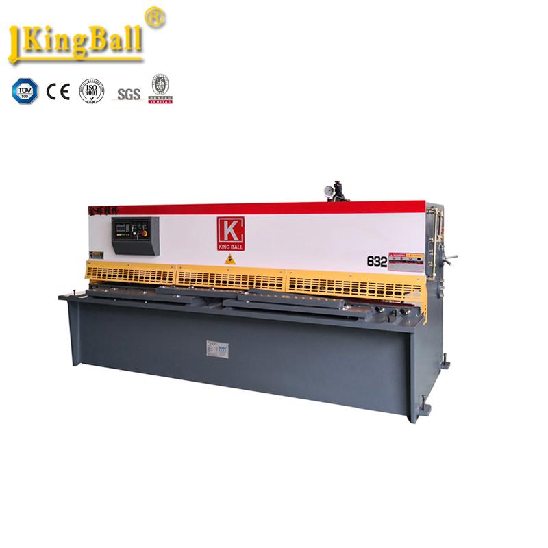 sheet metal cutting machine ,shearing machine QC12Y-6X2500,10ft metal sheet shear machine