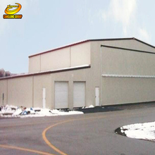 Large span steel structure warehouse storage metal buildings