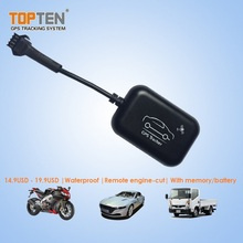 GPS GSM GPRS SMS Battery Powered Vehicle Cargo Tracking Device Remote Shut Down Engine