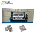 Small Semi-automatic paper egg tray pulp molding machine 400-1000 pcs/hour