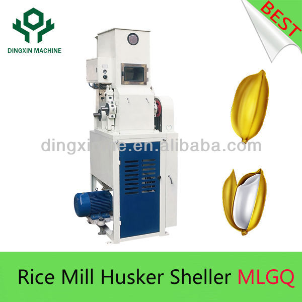 MLGQ High Capacity Paddy Hulling Machine For Rice Mill