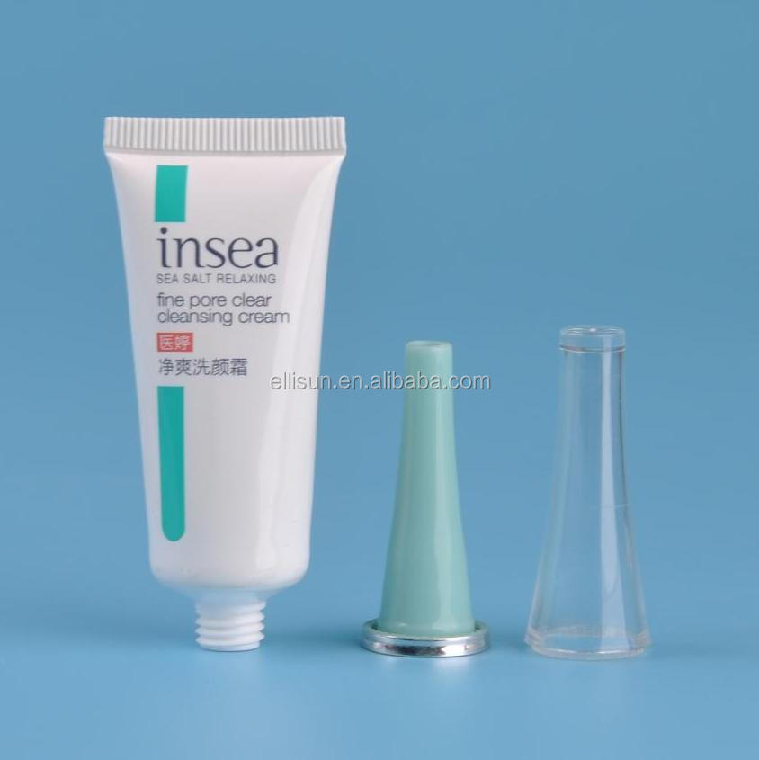 Plastic tube small toothpaste packing tube